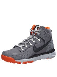 Nike SB x Poler Dunk High R/R Shoes  Grey/Orange/Blk