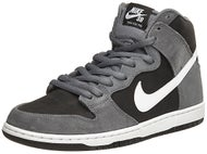Nike SB Dunk High Pro Shoes Dk Grey/White-Black