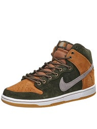 Nike SB Dunk High Prm QS Shoes Sequoia/Grey/Ale Brown
