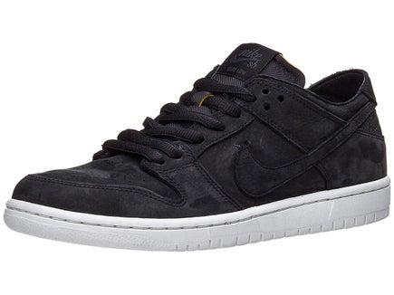 nike sb dunk low pro deconstruct shoes black blk wht