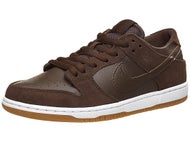 Nike SB Dunk Low Pro IW Shoes Baroque Brown/White/Gum