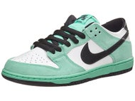 Nike SB Dunk Low Pro IW Shoes Green Glow/White/Black