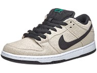 Nike SB Dunk Low Premium Hemp Shoes Bamboo/Black-Wht