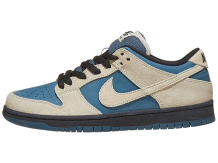 bb9058320830 Nike SB Dunk Low Pro Shoes Lt Cream Thunderstorm