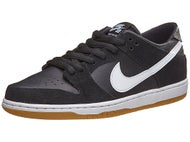 Nike SB Dunk Low Pro Shoes Black/White-Gum
