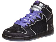Nike SB Box Pack Dunk High Elite Shoes Black/Wht/Purple