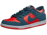 Nike SB Dunk Low Pro Shoes Nightshade/Chile Red