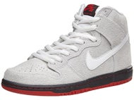 Nike SB Dunk High Black Sheep Shoes Summit Wht/Blk/Red