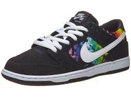 Nike SB Dunk Low Pro Ishod Wair Shoes Black/White/Multi