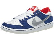Nike SB Dunk Low Pro IW QS Shoes Deep Royal/Red/Silver