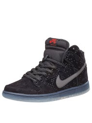 Nike SB Dunk High Pro Shoes  Black/Black-Clear