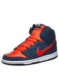 Nike SB Dunk High Pro Shoes  Obsidian/Team Orange