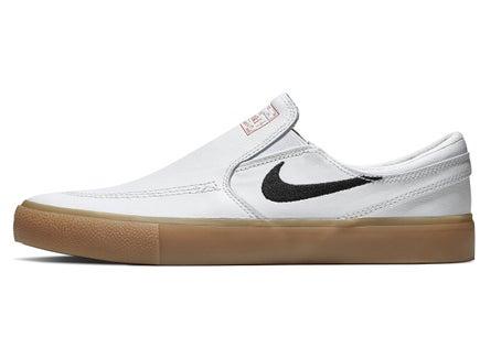 3d1b2eadf7 Nike SB Janoski Slip RM Shoes White/Black-White-Orange