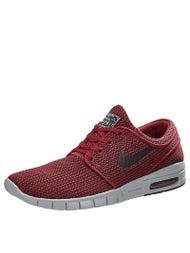 Nike SB Janoski Max Shoes  Team Red/Black-Wolf Grey