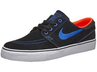 Nike SB Kids Janoski Shoes  Black/Blue/White