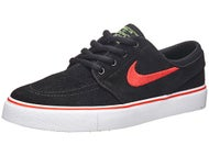 Nike SB Kids Janoski Shoes  Black/Crimson