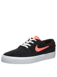 Nike SB Kids Janoski Shoes  Black/White/Hot Lava