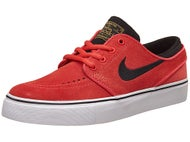 Nike SB Kids Janoski Shoes Ember/White/Black