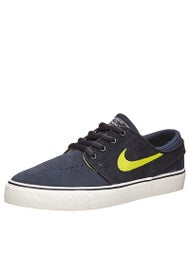 Nike SB Kids Janoski Shoes  Obsidian/Cyber/Black