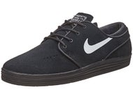 Nike SB Lunar Janoski Shoes  Black/Black/White