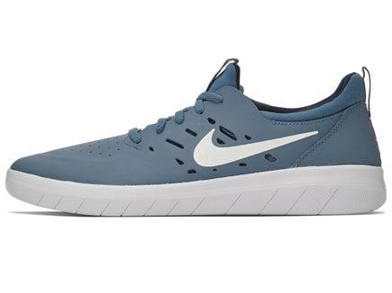 41a4e38917f2 Nike SB Nyjah Free Shoes Thunderstorm White-Obsidian