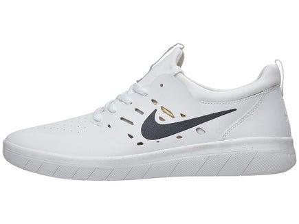48eac31a78308 Nike SB Nyjah Free Shoes Summit White Anthracite-Lemon
