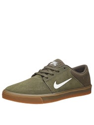 Nike SB Portmore Shoes  Cargo Khaki/Sail/Gum