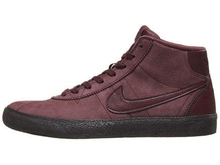 dbc8376f40f Nike SB Women s Bruin Hi Shoes Burgundy Crush