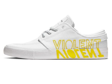 2b249fae99 Nike SB Janoski RM Shoes White/Clear-White-Yellow