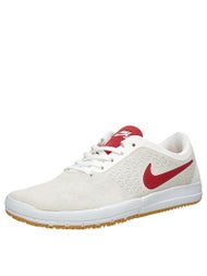 Nike SB Free Nano Shoes  Summit White/Gym Red