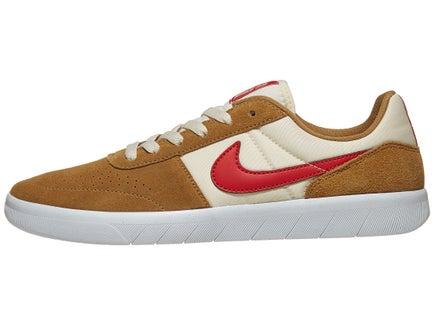 ba9148eea3ae Nike SB Team Classic Shoes Golden Beige Red-Cream-Wht