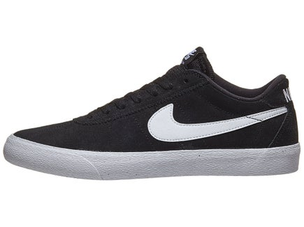 8a2cc2deaeff Nike SB Women s Bruin Lo Shoes Black White-White