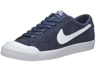 Nike SB Zoom All Court CK Shoes Obsidian/White