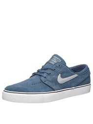 Nike SB Zoom Janoski Shoes  Squadron Blue/Silver/White