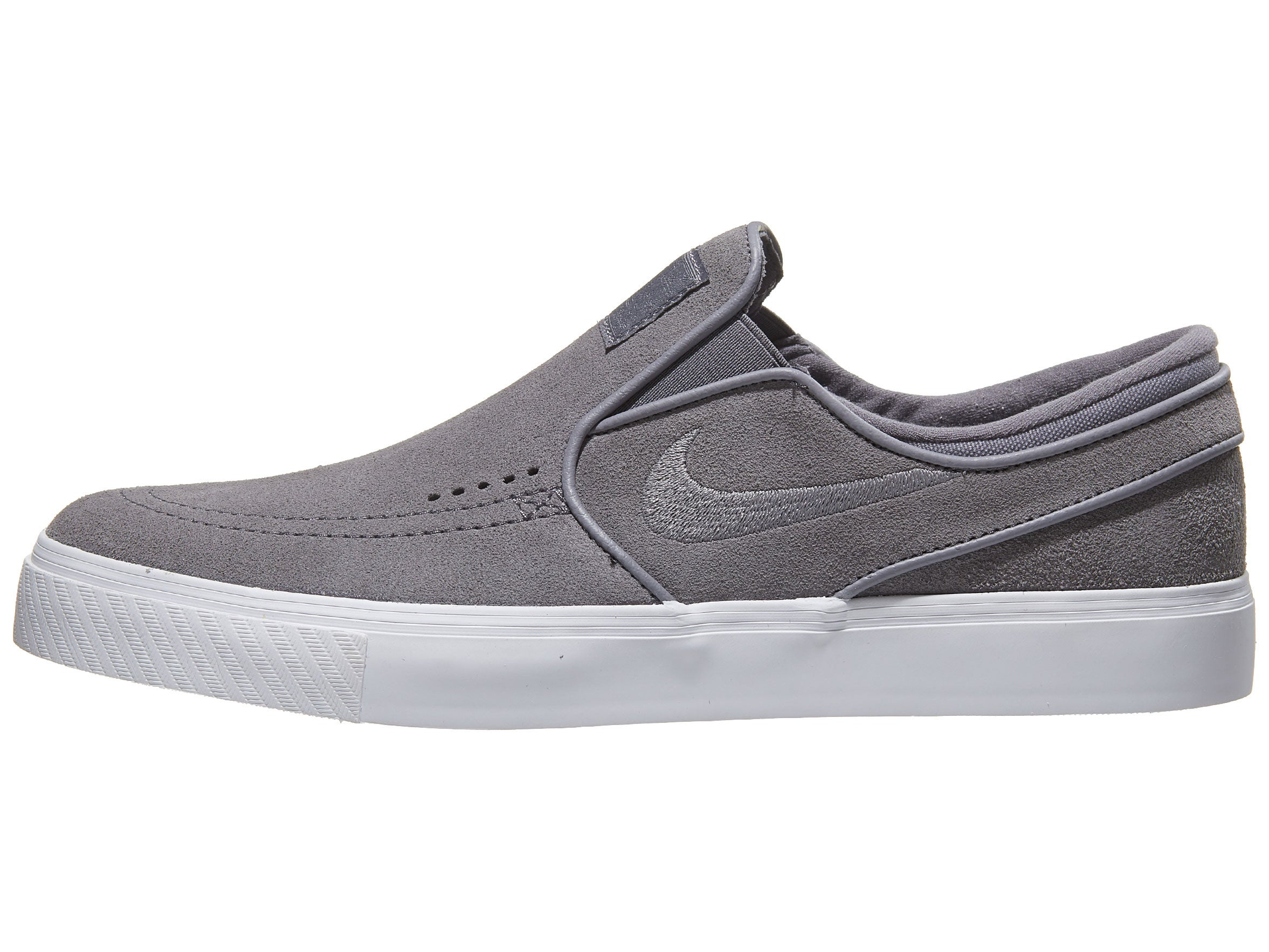 Nike SB Janoski Slip Shoes Gunsmoke/Gunsmoke-White