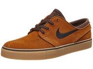 Nike SB Zoom Janoski Shoes Hazelnut/Brown/Gum