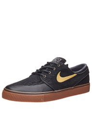 Nike SB Zoom Janoski Premium SE Shoes  Black/Gold/Gum