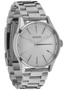 Nixon The Sentry 38 SS Watch  All Silver