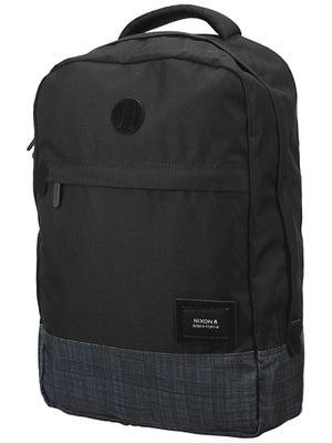 Nixon Beacons Backpack Black/Black/Wash