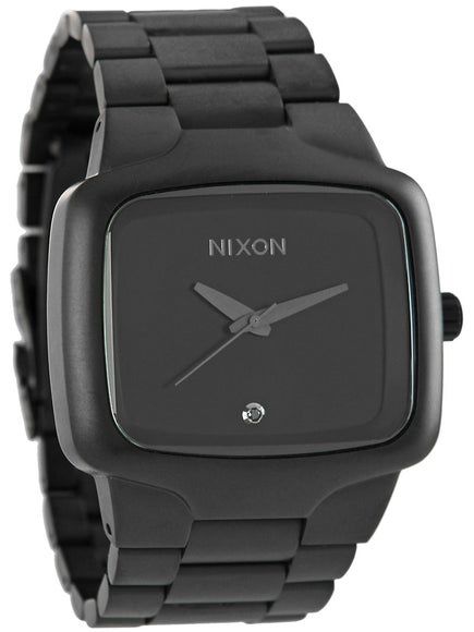 Nixon The Big Player Watch  Matte Black