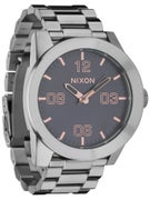 Nixon The Corporal SS Watch  Gray/Rose Gold