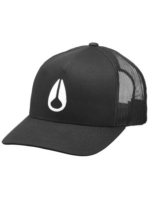 Nixon Iconed Trucker Hat Black/White