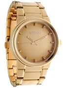 Nixon The Cannon Watch  All Gold Polished