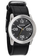 Nixon The Private Watch  Black Tape