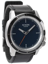 Nixon x Poler The Ranger 45 Leather Watch  Blue/Poler