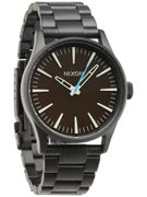 Nixon The Sentry SS Watch All Black/Brown