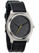 Nixon The Time Teller Watch  Black Tape