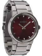 Nixon The Cannon Watch Gunmetal/Deep Burgundy