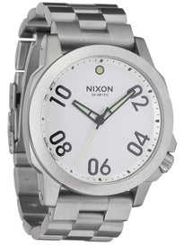 Nixon The Ranger 45 Watch  Silver