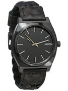 Nixon The Time Teller Watch  All Black Woven